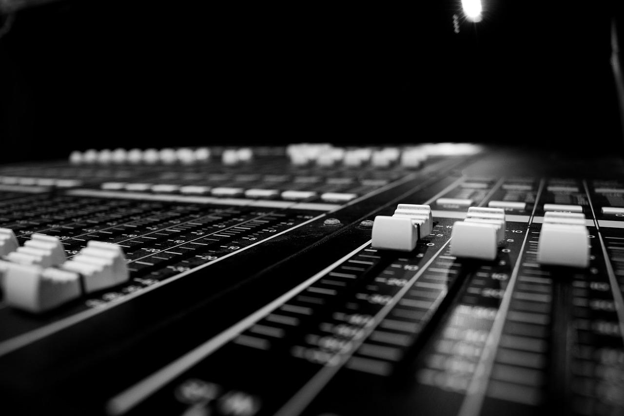 audio, closeup, console